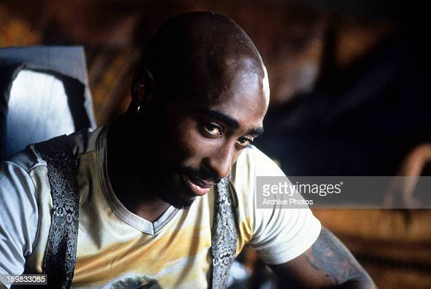 Tupac Shakur in a scene from the film 'Gridlock'd' 1997