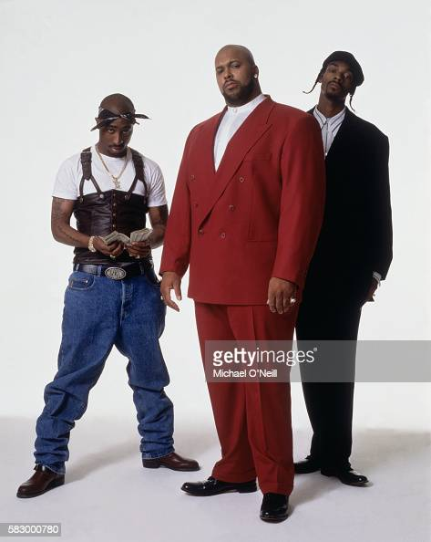 Tupac Shakur Suge Knight and Snoop Dogg