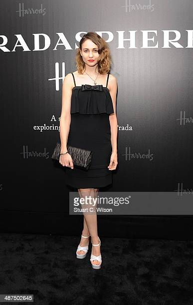 Tuppence Middleton attends PRADASPHERE at Harrods on April 30 2014 in London England
