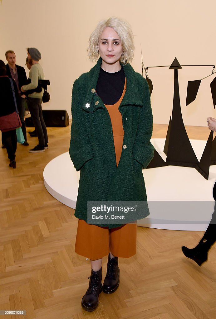 <a gi-track='captionPersonalityLinkClicked' href=/galleries/search?phrase=Tuppence+Middleton&family=editorial&specificpeople=5846961 ng-click='$event.stopPropagation()'>Tuppence Middleton</a> attends The Calder Prize 2005-2015 presented by Pace London And The Calder Foundation, on February 11, 2016 in London, England.