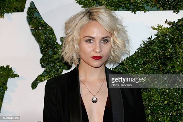 Tuppence Middleton attends the London Evening Standard British Film Awards at Television Centre on February 7 2016 in London England