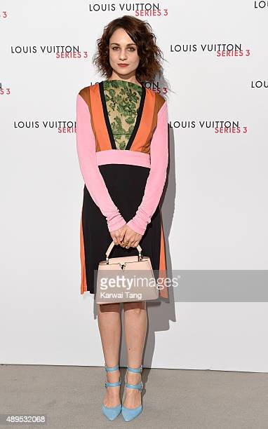 Tuppence Middleton attends the Louis Vuitton Series 3 VIP Launch on September 20 2015 in London England