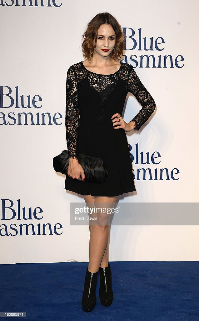 <a gi-track='captionPersonalityLinkClicked' href=/galleries/search?phrase=Tuppence+Middleton&family=editorial&specificpeople=5846961 ng-click='$event.stopPropagation()'>Tuppence Middleton</a> attends the UK premiere of 'Blue Jasmine' at Odeon West End on September 17, 2013 in London, England.