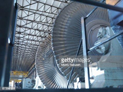 Turbine Engineers In Turbine Hall