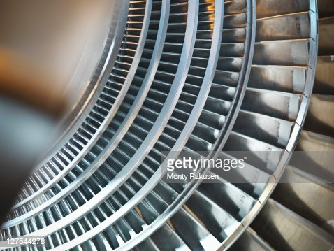 Turbine in power station