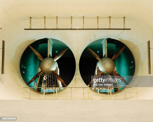Turbines at Langley Full-Scale Wind Tunnel