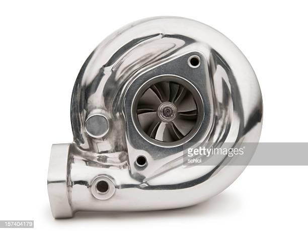 Turbocharger auf Weiß