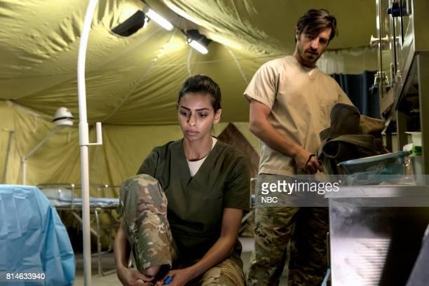 SHIFT 'Turbulence' Episode 405 Pictured Rana Roy as Amira Eoin Macken as TC Callahan