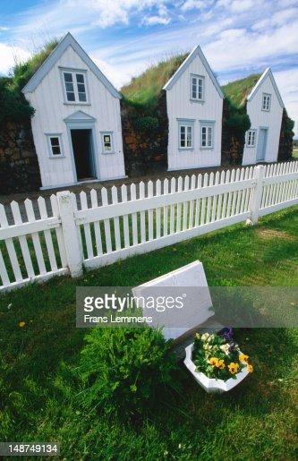 Turf houses.
