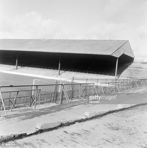 Turf Moor football stadium the home of Burnley FC 28th February 1967