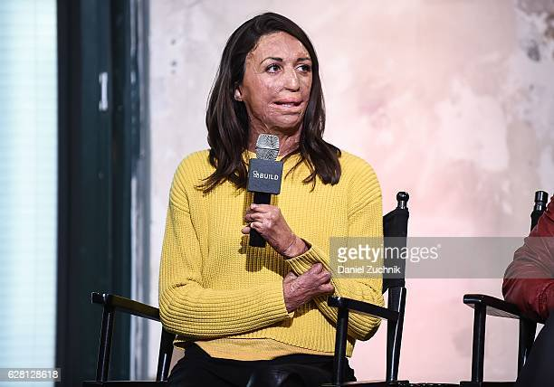 Turia Pitt attends AOL Build to discuss the new show ''Ironman World Championship' at AOL HQ on December 6 2016 in New York City