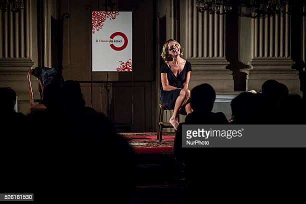 Turin Laura Lattuada performed the show 'Hell does not exist' Monologue from a text by Susanna Tamaro directed by Matteo Tarasco and music by...