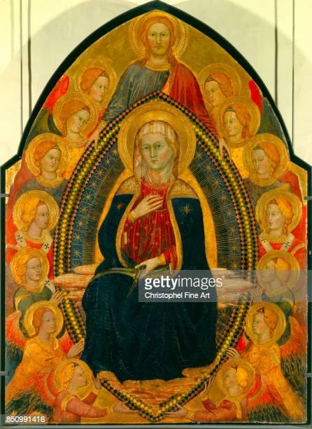 Turino Vanni The Assumption of the Virgin Oil on wood 120 x 089 m Avignon musee du Petit Palais