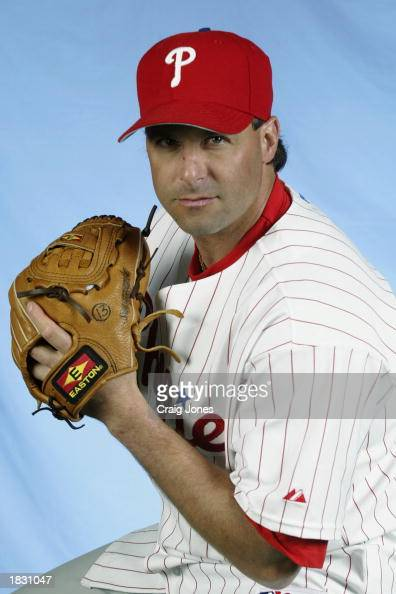 Turk Wendall of the Philadelphia Phillies poses for a portrait during the Phillies Media Day at Jack Russell Stadium in Clearwater Florida