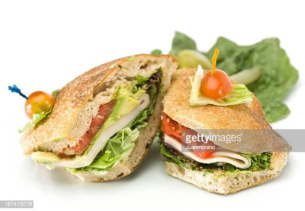 Turkey and Avocado Ciabatta Sandwich