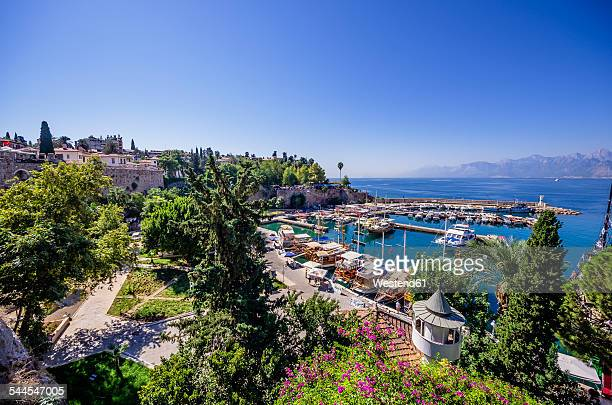 Turkey, Antalya, View to harbour
