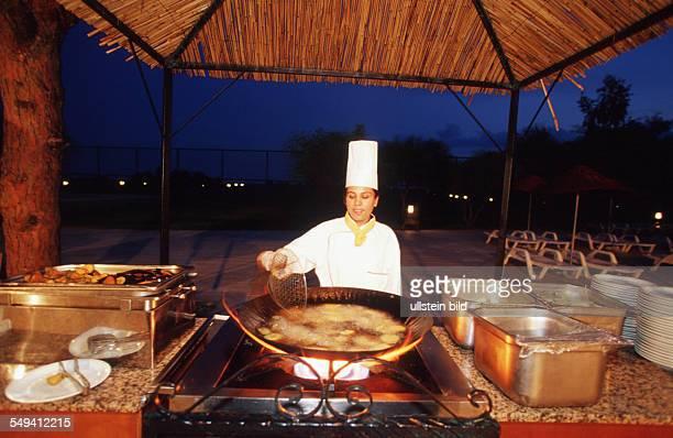 TUR Turkey Belek 092002 Sirene Golf Hotel Turkish cooking outide