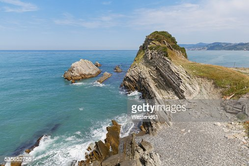 Turkey, Black Sea, rock coast of Oymayaka near Tuerkeli
