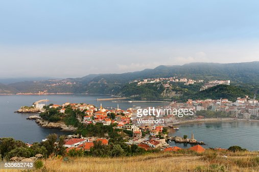 Turkey, Black Sea, townscape of Amasra