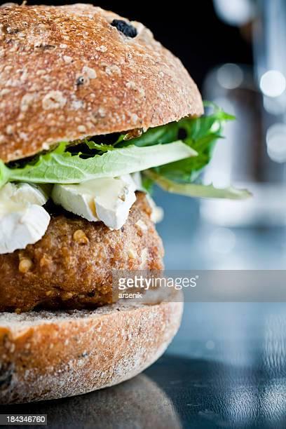Putenfleisch-Burger