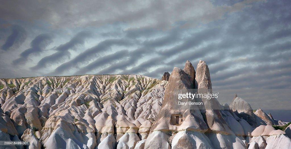 Turkey, Cappadocia landscape  of cone tufa : Stock Photo