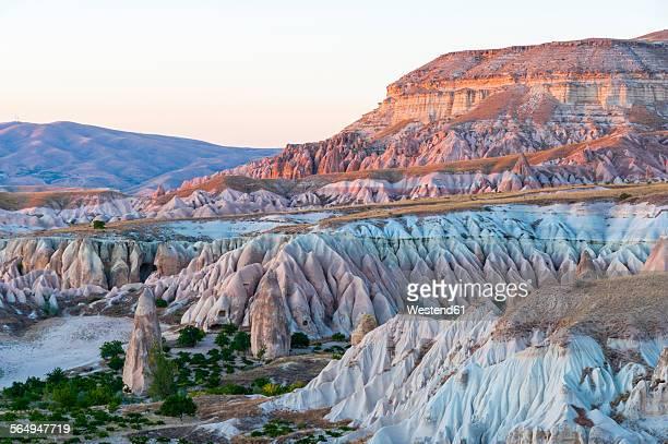 Turkey, Cappadocia, mountainscape