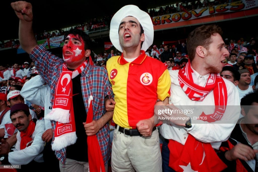 Soccer - Euro 96 - Group D - Croatia v Turkey - City Ground, Nottingham