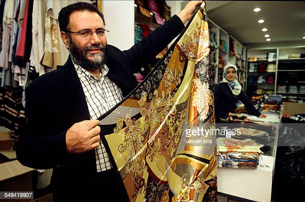 Mustafa Karduman CEO of the textile company TEKBIR specialized in fashion for muslims