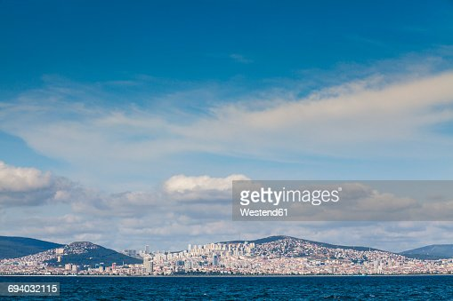 Turkey, Istanbul, view to the city from Sea of Marmara