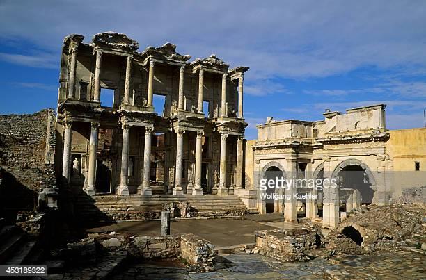 Turkey Near KUSADASI Ephesus Library Of Celsus