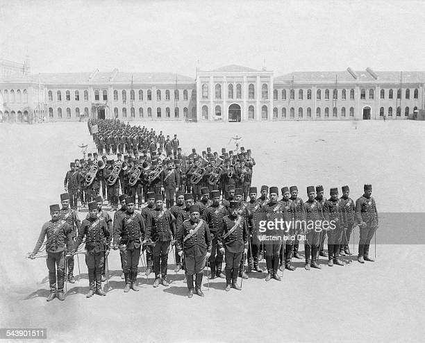 Turkey Ottoman Empire 18601912 Constantinople Istanbul Constantinople First artillery brigade 1903 Photographer Abdullah FreresVintage property of...