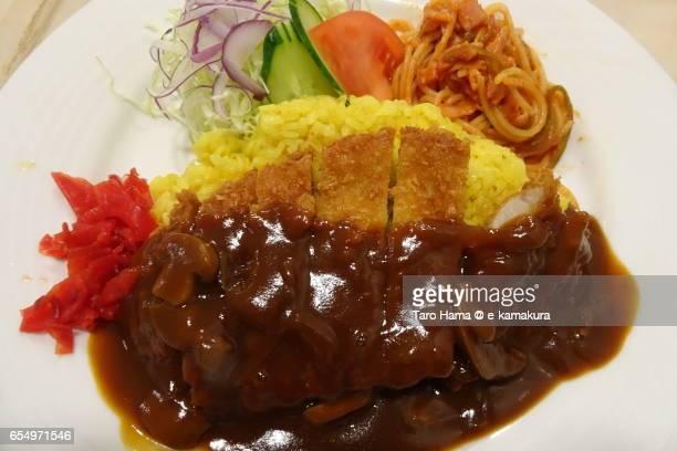 Turkey rice, local food in Nagasaki prefecture