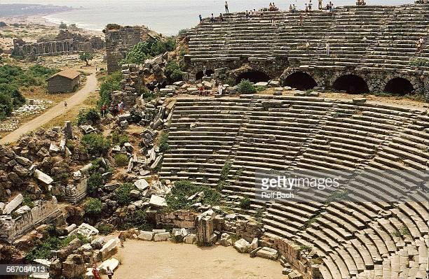 Turkey, side- antique theatre
