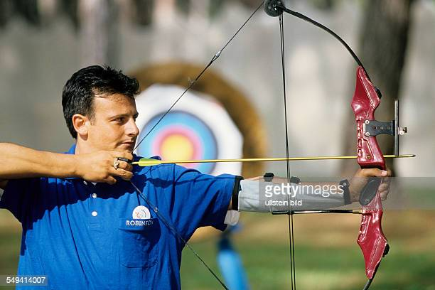 Robinson Club Pamfilya archery target