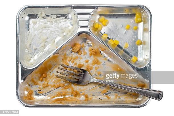 Turkey TV Dinner Remains