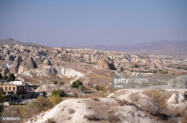 view the Goreme Valley with its cave sites dwellings troglodyte villages and underground towns
