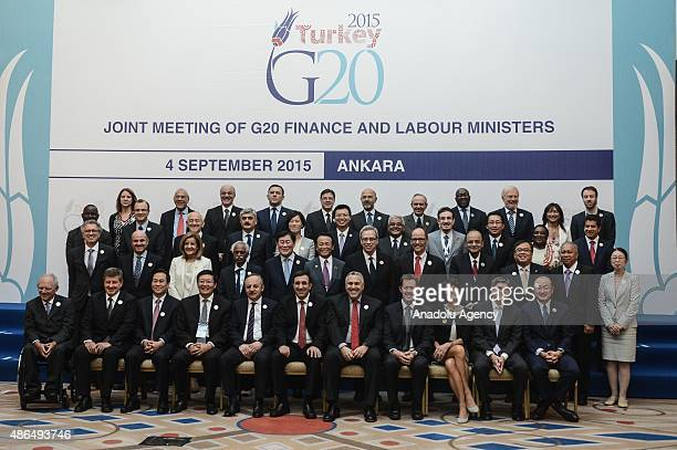 Turkey's Deputy Prime Minister Cevdet Yilmaz Turkey's Minister of Labor and Social Security Ahmet Erdem Germany's Minister of Finance Wolfgang...