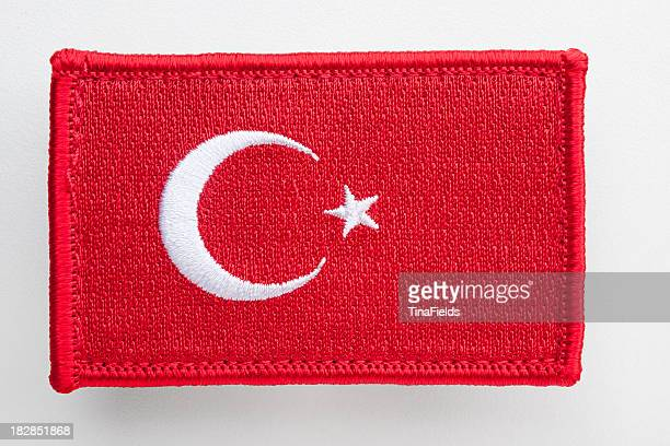 Turkey's flag patch.