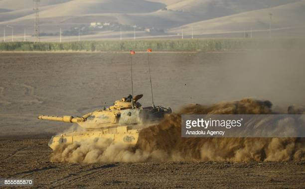 Turkish Armed Forces continue to conduct a military drill on its twelfth day near Habur border gate on TurkishIraqi border in Silopi district of...