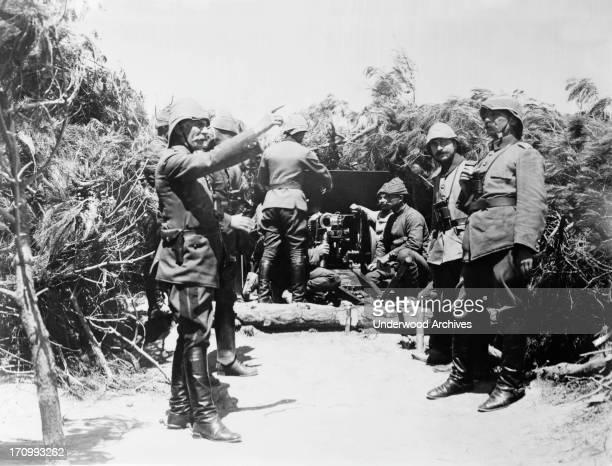 Turkish army battery set up in Gallipoli Gallipoli Turkey 1915