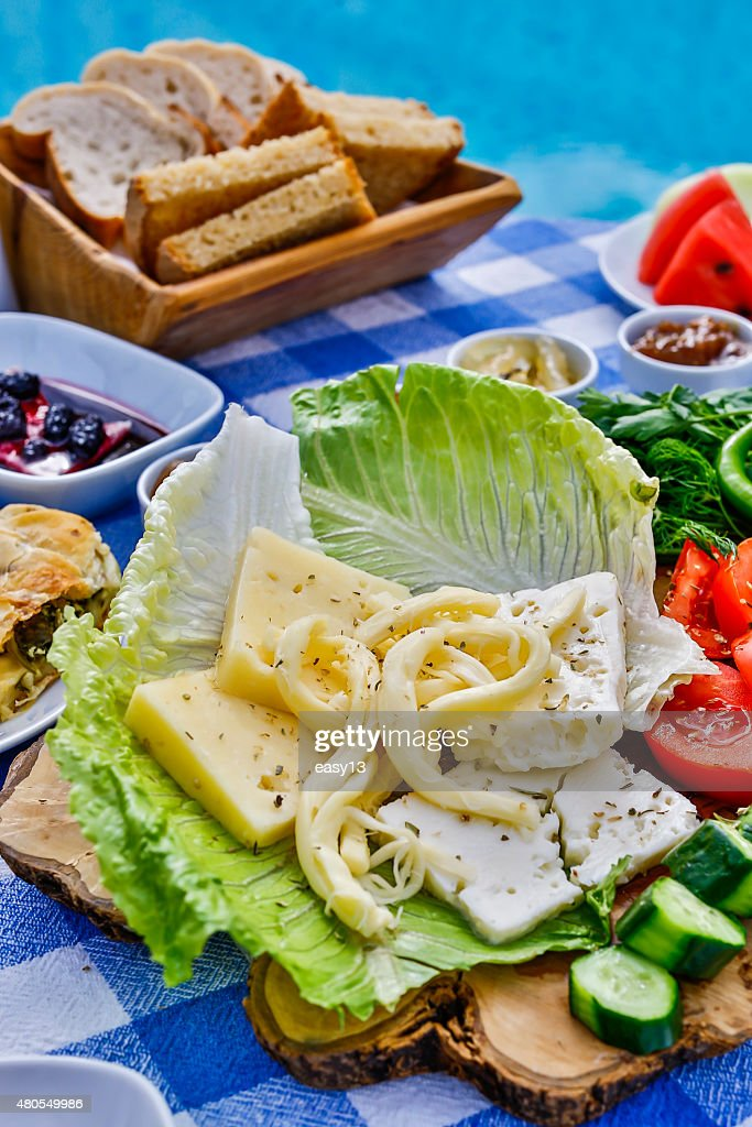 Turkish Breakfast : Stock Photo