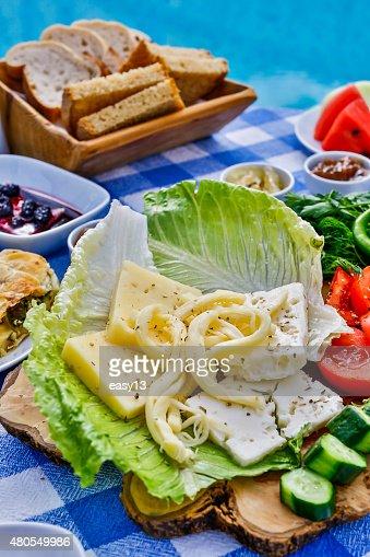 Turkish Breakfast : Stock Photo