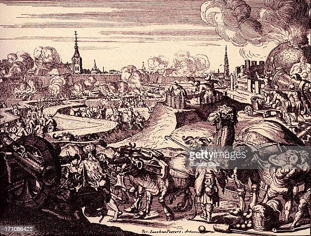 Turkish camp outside Vienna engraving by Romeyn de HoogheThe siege of Vienna by the Turks 1529