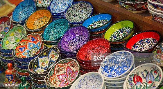 Turkish ceramics : Stock Photo