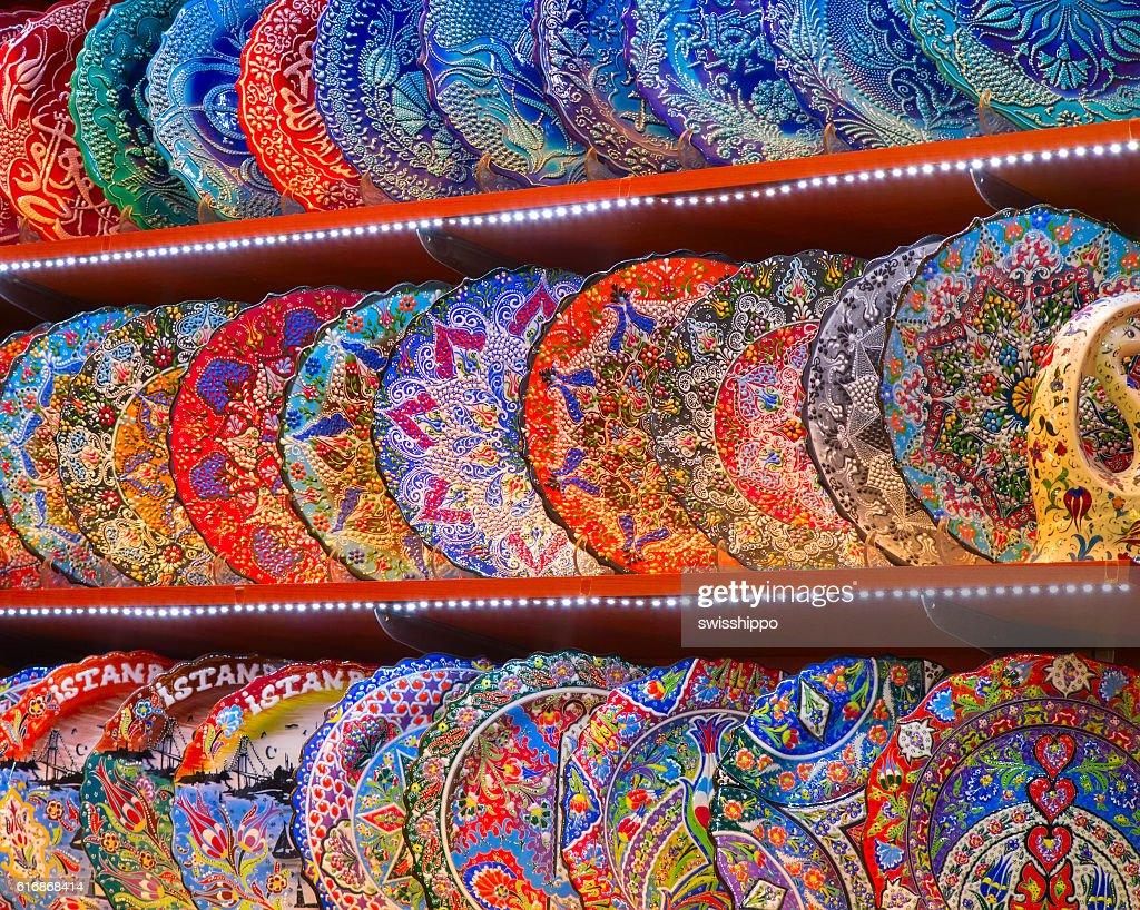 Turkish ceramics : Stock Photo