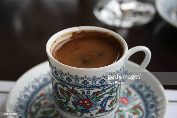 Turkish Coffee in Istanbul Turkey