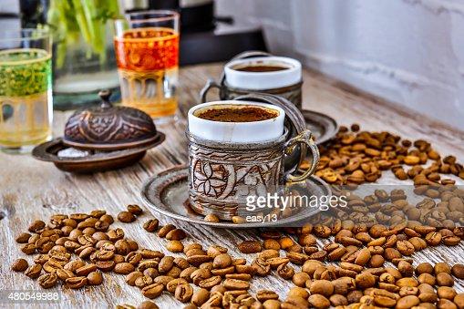Café turco - 2 : Foto de stock