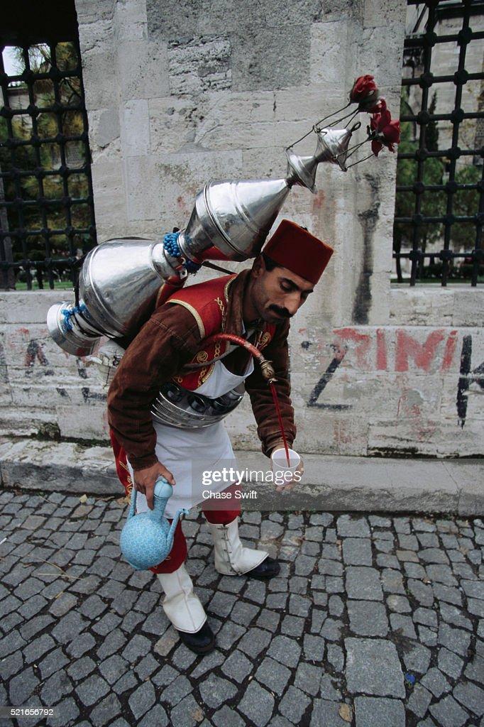 Turkish Drink Vendor