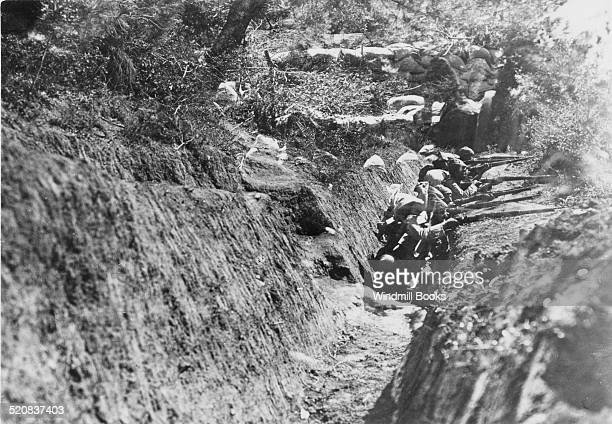 Turkish fire trenches Gallipoli