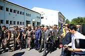 Turkish Interior Minister Efkan Ala Chief of the General Staff of the Turkish Armed Forces Hulusi Akar and commandersinchief of Turkish armed forces...